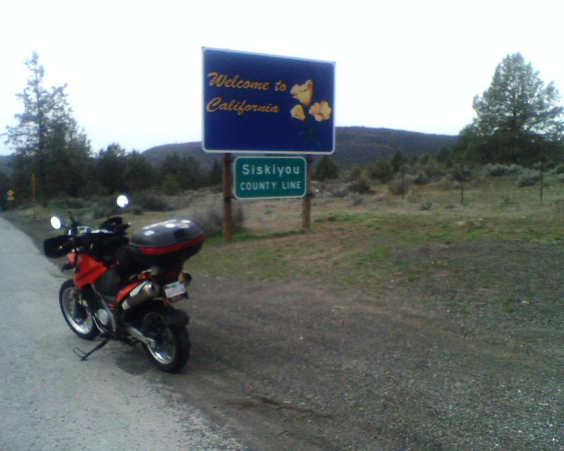 OR-CA border, Hwy 97