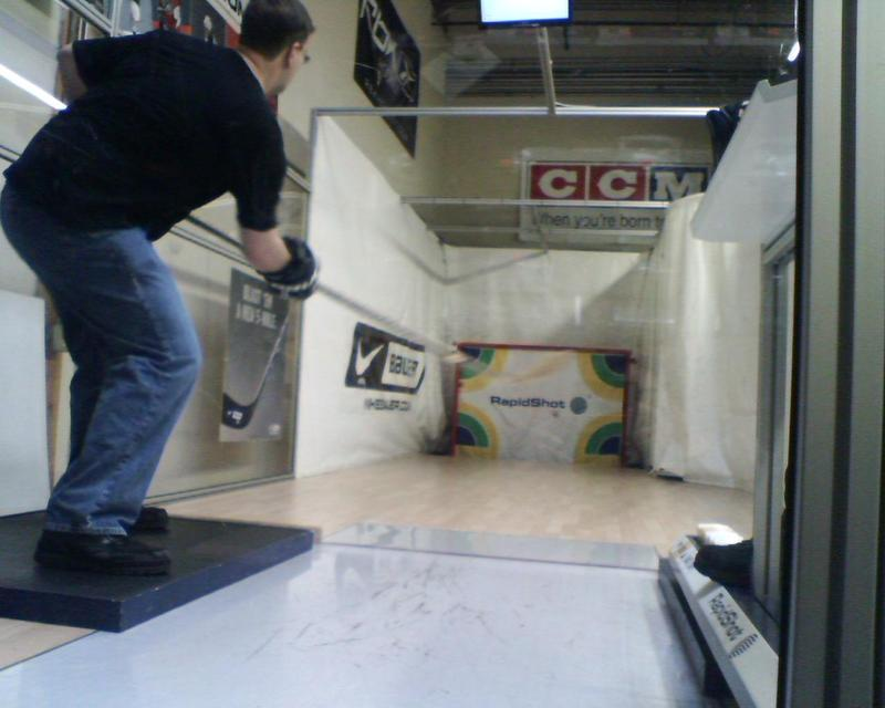 RapidShot shooting practice